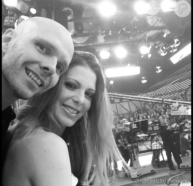 Sheila Mello deu à luz Brenda, sua primeira filha com Fernando Scherer, em 26 de março de 2013