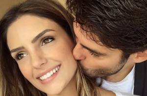 Carol Celico faz agradecimentos a Kaká após reatar casamento: 'Marido e amigo'