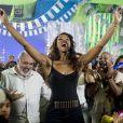 As cenas de Carnaval da novela 'Império' também terão a participação de Cris Vianna, como Juju Popular