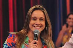 'Domingão': Fernanda Gentil realiza sonho de conversar com Júnior Lima