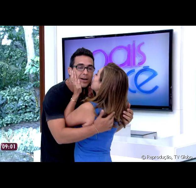 André Marques volta a comandar 'Mais Você' e recebe Cissa Guimarães