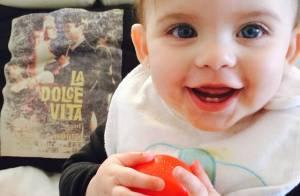 Maria Eduarda, filha de Henri Castelli, faz aniversário de 1 ano. Veja fotos!