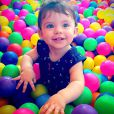 Maria Eduarda completa 1 ano neste domingo, dia 11 de janeiro de 2015