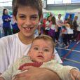 Além de Maria Eduarda, o ator também é pai de Lucas, de 8 anos, fruto de seu relacionamento com a modelo Isabelli Fontana