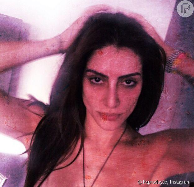 Cleo Pires postou nesta quinta-feira, 8 de janeiro de 2015, uma foto sensual feita pelo namorado. 'Sessão dele', legendou a imagem