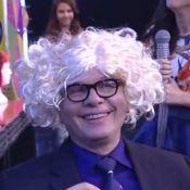 Marcelo Tas experimenta perucas no programa 'Tudo pela audiência': 'Cara da mãe'