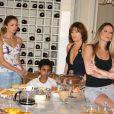 Grazi Massafera em cena com Danielle Winits, Natália do Vale e o menino Marcos Henrique, na novela 'Páginas da Vida'