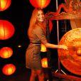Grazi Massafera se divertiu na coletiva de imprensa da novela 'Negócio da China'