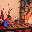Para gravar as primeiras cenas de 'Flor do Caribe', Grazi Massafera viajou para a Guatemala