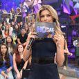 O desempenho de Grazi na TV a cabo chamou a atenção da Globo. Em de 2014, ela comandou o 'Altas Horas' especial em homenagem ao aniversário de Serginho Groismann