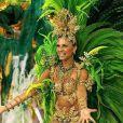 O sucesso de Grazi Massafera só aumentava... Com isso, em 2007, ela estreou no posto de rainha de bateria no Carnaval do Rio, na escola de samba Grande Rio