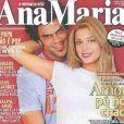 Grazi Massafera e Alan Passos fizeram muito sucesso juntos e estamparam capas de revistas