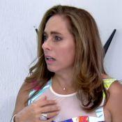 Cissa Guimarães leva susto com aranha de brinquedo no 'Mais Você': 'Tremendo'