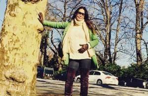 Carolina Ferraz, grávida de 6 meses, conta sobre enxoval: 'Cortei muita coisa'