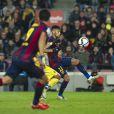 Neymar foi muito perseguido em campo no jogo do Barcelona contra o Villarreal