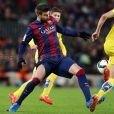 Piquet também marcou um gol na vitória do Barcelona sobre o Villarreal