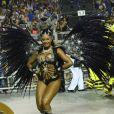 No Carnaval de São Paulo, Camila Silva é rainha de bateria da escola de samba Vai-Vai