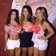 Monique Amim com Scheila Carvalho e Sheila Mello