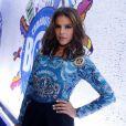 Bruna Marquezine vai com body customizado para o camarote da Boa