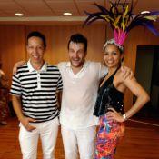 Roberto Birindelli, o Josué de 'Império', faz aula de samba para o Carnaval