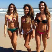 Fernanda Pontes integra trio que vai dançar e exibir corpão em 'Flor do Caribe'