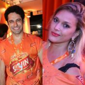 Suposto affair de Paolla Oliveira, João Baldasserini beija promoter na Bahia