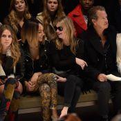 Cara Delevingne marca presença na Semana de Moda de Londres com Kate Moss