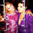 Carolina Dieckmann e Preta Gil se divertem na festa de casamento de Thiaguinho e Fernanda Souza