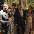 Famosos e familiares se divertem na festa de casamento de Thiaguinho e Fernanda Souza