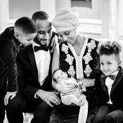 Cantora Alicia Keys apresenta o filho caçula, Genesis, em foto com a família
