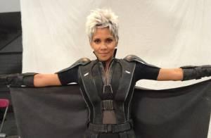 Halle Berry aparece caracterizada de Tempestade para o novo filme dos 'X-Men'
