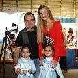 Outro cantor pai de duas filhas gêmeas é Luciano Camargo, da dupla com o irmão Zezé. As herdeiras do sertanejo, Helena e Isabella, hoje têm 5 anos