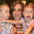 Betty Gofman é mãe de Alice e Helena, de quase 4 anos