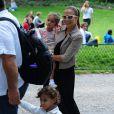 Jennifer Lopez é mãe do casal de gêmeos Max e Emme, de 7 anos