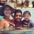 No último domingo, 1 de março de 2015, Luana Piovani anunciou que está grávida de gêmeos. A atriz e o marido, Pedro Scooby já são pais de Dom, de 3 anos