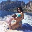 Daniela Albuquerque usou seu Instagram para anunciar a segunda gravidez, em outubro de 2014