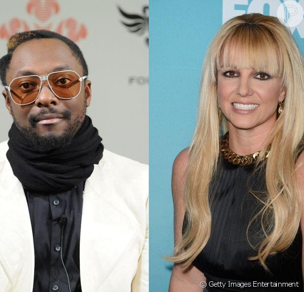 Will.I.Am falou sobre sua participação no novo álbum de Britney Spears, em chat nesta terça-feira, 23 de abril de 2013