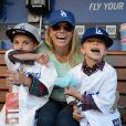 Britney Spears é mãe de Sean Preston e Jayden James, de 7 e 6 anos, respectivamente
