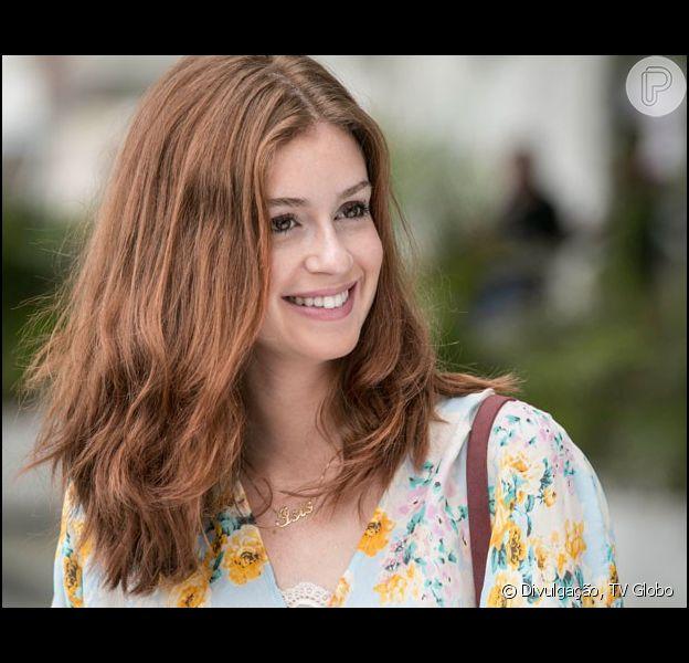 Maria Isis (Marina Ruy Barbosa) aparecerá na última cena da novela 'Império' com um filho no colo e milionária, como informou o colunista de TV Daniel Castro nesta quinta-feira, 5 de março de 2015