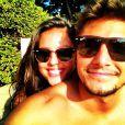 Yanna Lavigne e Bruno Gissoni sempre compartilham fotos juntos nas redes sociais