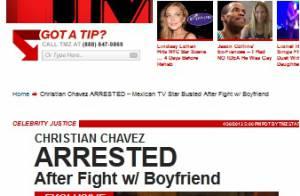 Ex-RBD Christian Chávez é preso após agredir namorado nos EUA