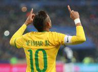 Neymar marca gol em vitória de virada do Brasil sobre a França, em Paris