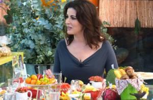 Chef Nigella fala à Ana Maria Braga sobre dieta: 'Não me nego aos prazeres'