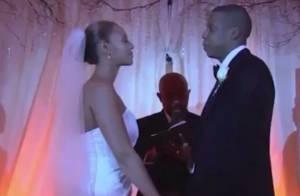 Jay-Z divulga imagens inéditas do casamento com Beyoncé. Assista ao vídeo!