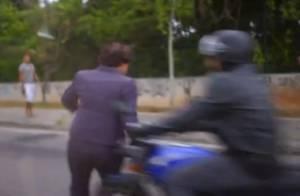 'Sete Vidas': Guida é atropelada ao sair do carro de Marta em meio a uma briga