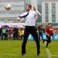 David Beckham joga futebol profissionalmente desde o início dos anos 90