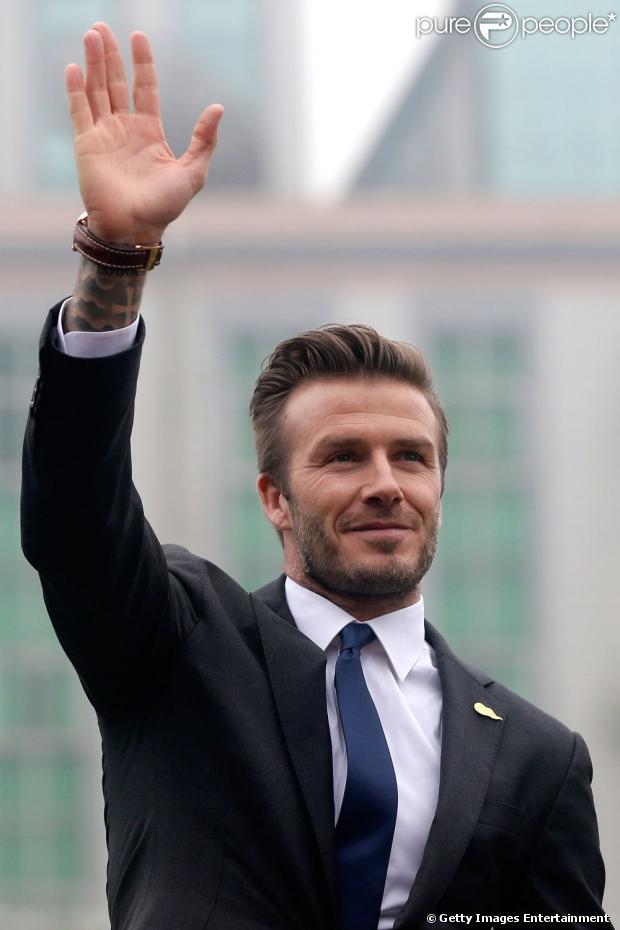 David Beckham anunciou que deixará os gramados e se aposentará do futebol no final deste mês, em 16 de maio de 2013