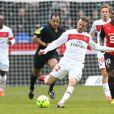 David Beckham atualmente defende o clube Paris Saint-Germain, na França