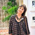 Ousada e moderna, Patrícia (Maria Casadevall) trabalha na administração do hospital San Magno, em 'Amor à Vida'