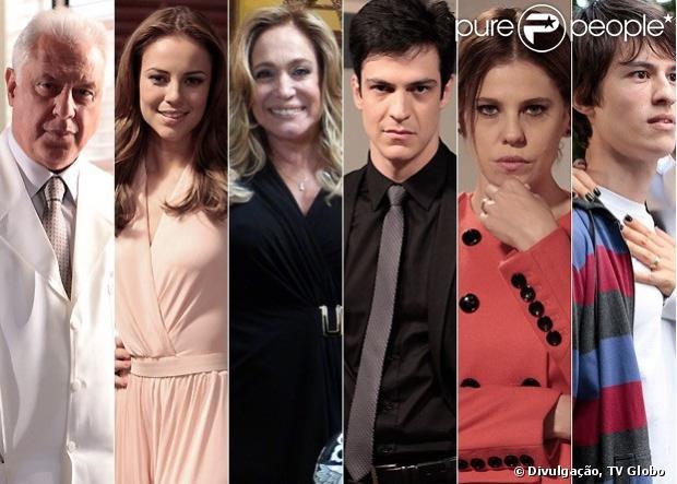 A família Khoury segura a trama principal de 'Amor à Vida', a nova novela das nove, que estreia em 20 de maio de 2013